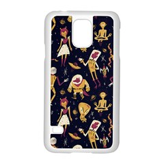 Alien Surface Pattern Samsung Galaxy S5 Case (white)