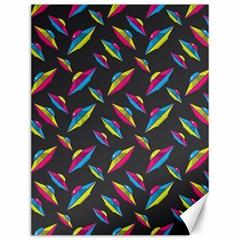 Alien Patterns Vector Graphic Canvas 12  x 16