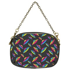 Alien Patterns Vector Graphic Chain Purses (Two Sides)