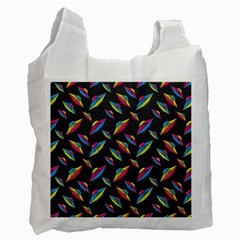 Alien Patterns Vector Graphic Recycle Bag (Two Side)