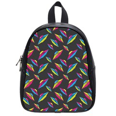 Alien Patterns Vector Graphic School Bags (Small)