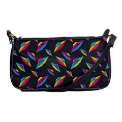 Alien Patterns Vector Graphic Shoulder Clutch Bags