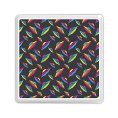 Alien Patterns Vector Graphic Memory Card Reader (Square)
