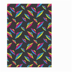 Alien Patterns Vector Graphic Large Garden Flag (two Sides)