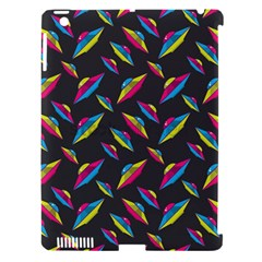 Alien Patterns Vector Graphic Apple iPad 3/4 Hardshell Case (Compatible with Smart Cover)