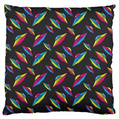 Alien Patterns Vector Graphic Large Cushion Case (one Side)