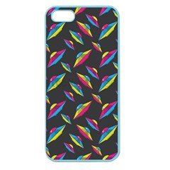 Alien Patterns Vector Graphic Apple Seamless iPhone 5 Case (Color)