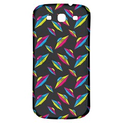Alien Patterns Vector Graphic Samsung Galaxy S3 S Iii Classic Hardshell Back Case