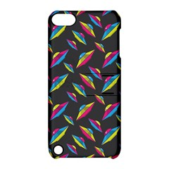 Alien Patterns Vector Graphic Apple iPod Touch 5 Hardshell Case with Stand