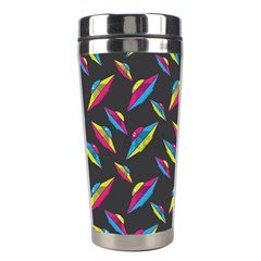 Alien Patterns Vector Graphic Stainless Steel Travel Tumblers