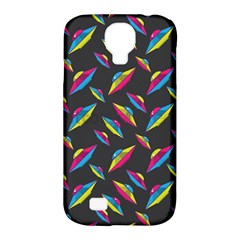 Alien Patterns Vector Graphic Samsung Galaxy S4 Classic Hardshell Case (PC+Silicone)