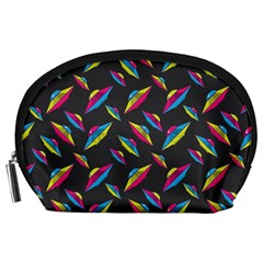 Alien Patterns Vector Graphic Accessory Pouches (large)