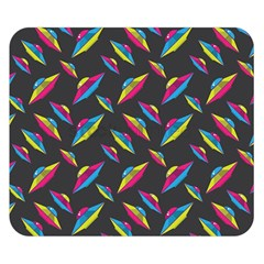 Alien Patterns Vector Graphic Double Sided Flano Blanket (Small)