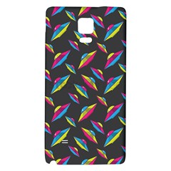 Alien Patterns Vector Graphic Galaxy Note 4 Back Case
