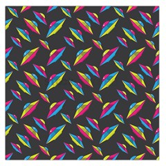 Alien Patterns Vector Graphic Large Satin Scarf (square)