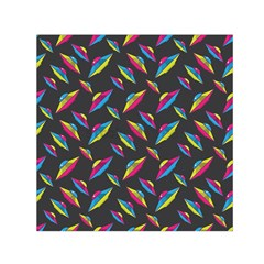Alien Patterns Vector Graphic Small Satin Scarf (Square)