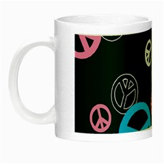 Peace & Love Pattern Night Luminous Mugs