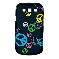 Peace & Love Pattern Samsung Galaxy S Iii Classic Hardshell Case (pc+silicone)