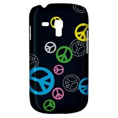 Peace & Love Pattern Galaxy S3 Mini