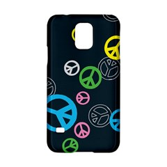 Peace & Love Pattern Samsung Galaxy S5 Hardshell Case