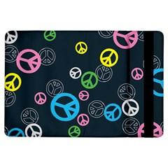 Peace & Love Pattern iPad Air Flip