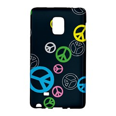 Peace & Love Pattern Galaxy Note Edge