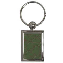 Alien Wires Texture Key Chains (Rectangle)