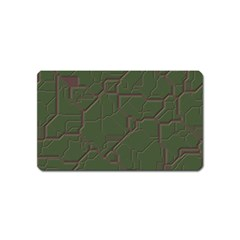 Alien Wires Texture Magnet (Name Card)