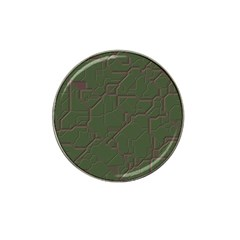 Alien Wires Texture Hat Clip Ball Marker (10 pack)