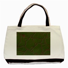Alien Wires Texture Basic Tote Bag