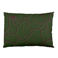 Alien Wires Texture Pillow Case