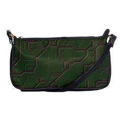 Alien Wires Texture Shoulder Clutch Bags