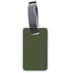 Alien Wires Texture Luggage Tags (one Side)