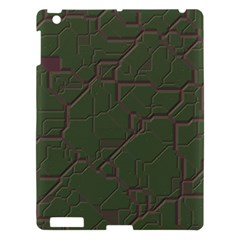Alien Wires Texture Apple iPad 3/4 Hardshell Case