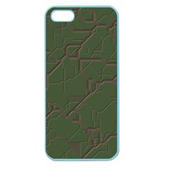 Alien Wires Texture Apple Seamless iPhone 5 Case (Color)