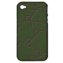 Alien Wires Texture Apple iPhone 4/4S Hardshell Case (PC+Silicone)