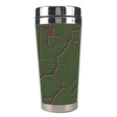 Alien Wires Texture Stainless Steel Travel Tumblers
