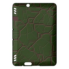Alien Wires Texture Kindle Fire Hdx Hardshell Case