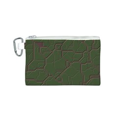 Alien Wires Texture Canvas Cosmetic Bag (S)