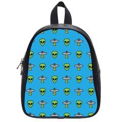 Alien Pattern School Bags (Small)