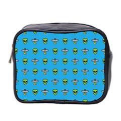 Alien Pattern Mini Toiletries Bag 2-Side