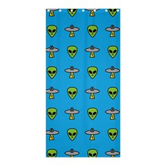 Alien Pattern Shower Curtain 36  X 72  (stall)