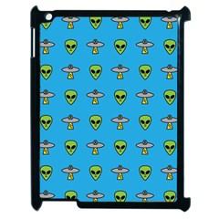 Alien Pattern Apple Ipad 2 Case (black)