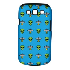 Alien Pattern Samsung Galaxy S III Classic Hardshell Case (PC+Silicone)