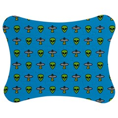 Alien Pattern Jigsaw Puzzle Photo Stand (bow)