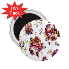 Texture Pattern Fabric Design 2 25  Magnets (100 Pack)