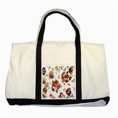 Texture Pattern Fabric Design Two Tone Tote Bag