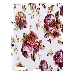 Texture Pattern Fabric Design Apple iPad 3/4 Hardshell Case