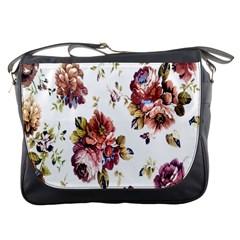 Texture Pattern Fabric Design Messenger Bags