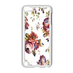Texture Pattern Fabric Design Apple iPod Touch 5 Case (White)